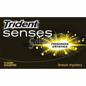 Trident Chicle limón trident senses unitario 1 ud