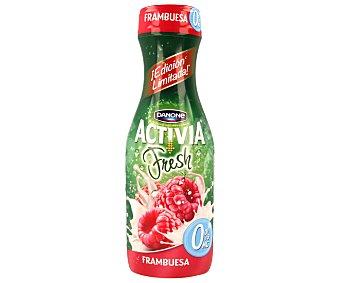 Danone Yogur con bífidus sabor a frambuesa 0% materia grasa Activia 550 g