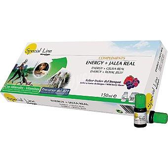 Special Line Complemento energético con jalea real frutas Estuche 10 unidades