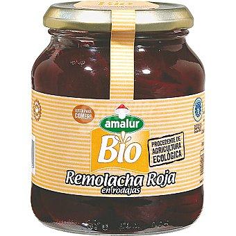 Amalur Remolacha roja en rodajas de agricultura ecológica frasco 195 g neto escurrido Frasco 195 g neto escurrido