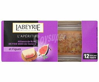 Labeyrie Foie pato con higos, especial aperitivos 75 Gramos