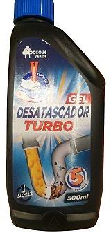 Bosque Verde Desatascador tuberias gel turbo (en 5 minutos) Botella 500 cc
