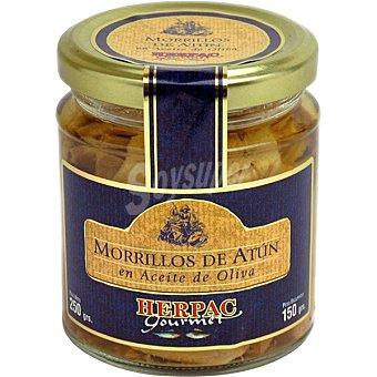 Herpac Morrillos de atún en aceite de oliva frasco 150 g frasco 150 g