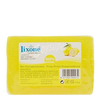 Lixone Pastilla de jabón de limón 100% natural 1 ud