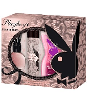 Playboy Fragrances Estuche de colonia 50 ml. + desodorante 75 ml. + gel 250 ml. Play it Sexy 1 ud