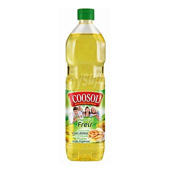 Coosol Aceite refinado de girasol 'premium' especial para freir Botella de 1 l