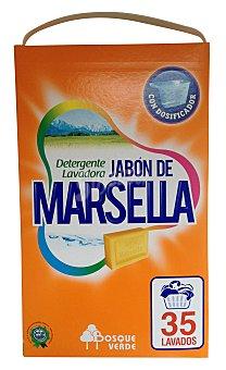 Bosque Verde Detergente lavadora polvo marsella Paquete 2625 g