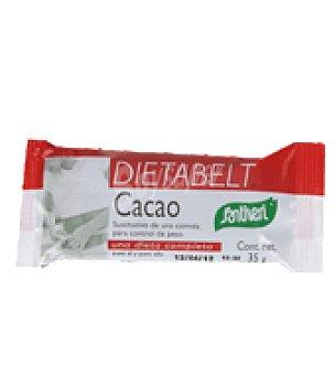 Santiveri Barritas cacao dietabelt 1 paquete de 35 gr