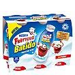 Yogur para beber de fresa Pack 6x90 g Fruttolo Nestlé