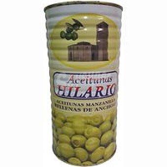 HILARI Aceitunas rellenas de anchoa Lata 600 g