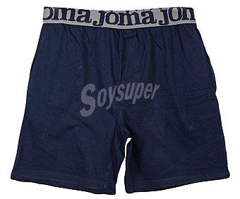 JOMA Pantalón corto de pijama para hombre, color azul marino, talla M.
