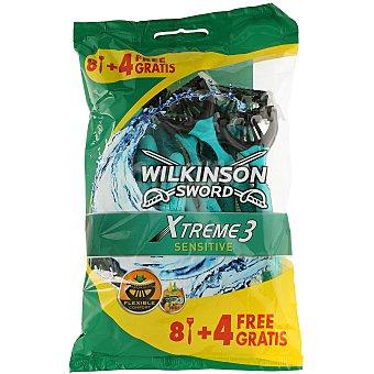Wilkinson Sword extreme sensitive 3 maquinilla desechable Bolsa 8 u