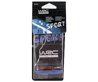 WRC Ambientador de Coche para Colgar con Agradables y Refrescantes Olores 1 unidad