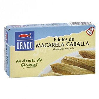 Ubago Filete de caballa en aceite Lata 90 g