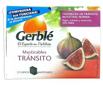 Gerblé Masticables tránsito, complemento alimenticio para el confort del tránsito intestinal 127 Gramos