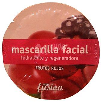 FRUIT FUSION Mascarilla facial frutos rojos u 10 g