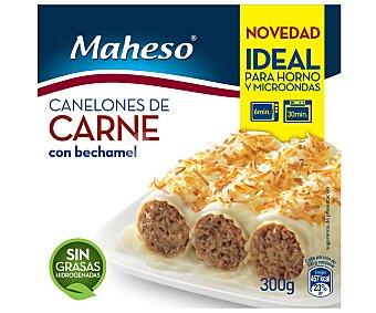 Maheso Canelones de carne con bechamel 250 gramos