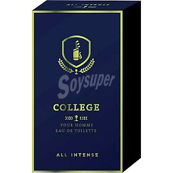 All Intense eau de toilette masculina vaporizador College 100 ml