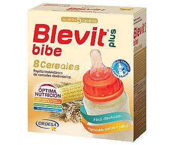 Blevit Blevit plus papilla para biberon 8 cereales Caja 600 gr