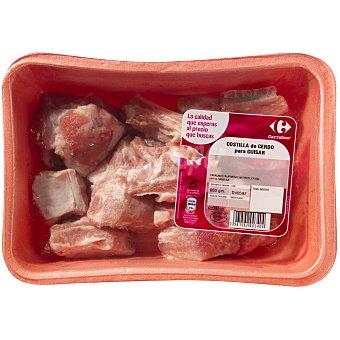 Costilla de cerdo troceada Bandeja de 650 g