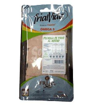 Frialvida Pechuga de pavo natural al horno con omega 3 y antioxidantes 125 grs