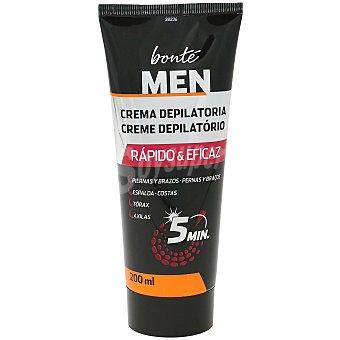 Bonté Crema depilatoria para hombre Tubo 200 ml