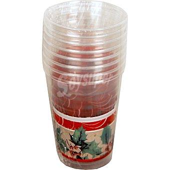 Nv corporacion vaso Merry Christmas paquete 8 unidades 25 cl