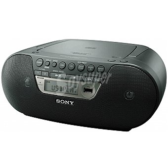 Sony Radio digital CD portátil Boombox con USB ZS-PS30CPB