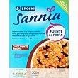 Absolut vital con chocolate Caja 300 g Eroski Sannia