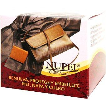 NUPEL Crema nutritiva para prendas de piel, napa y cuero tarro 45 ml Tarro 45 ml
