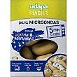 Patata para microondas incluye crema normanda lista en 5 minutos Estuche 280 g Udapa