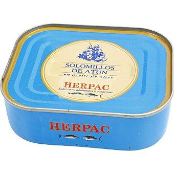 Herpac Solomillos de atún en aceite de oliva lata 250 g lata 250 g
