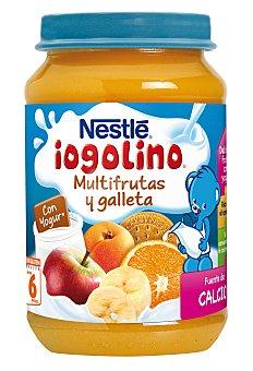 Iogolino Nestlé Nestlé Iogolino Tarrito Multifrutas Galleta 190 g