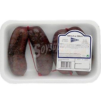 HIPERCOR morcilla negra de cebolla peso aproximado bandeja 500 g