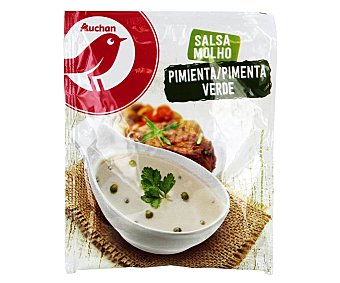 Auchan Salsa de pimienta verde 60 g
