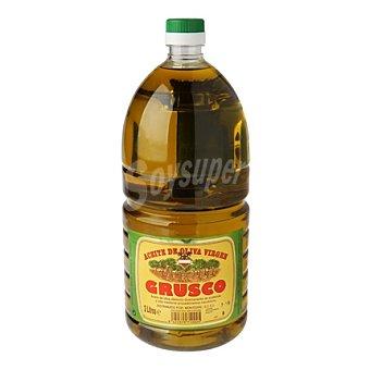 GRUSCO Aceite de oliva virgen Botella 2 litros