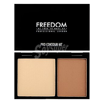Freedom Kit maquillaje contorno Fair Freedom 1 ud