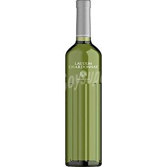 Laudum Vino blanco chardonnay joven ecológico de Alicante botella 75 cl