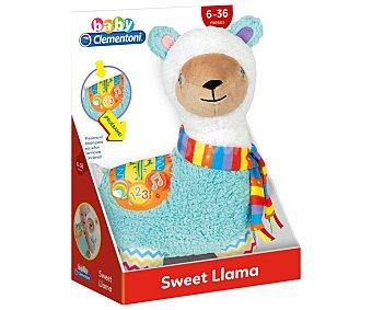 Clementoni baby Llama de peluche interactiva educativa con canciones, Baby.