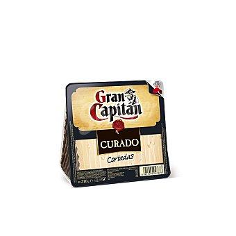 Gran Capitán Queso curado cortaditas 210 g