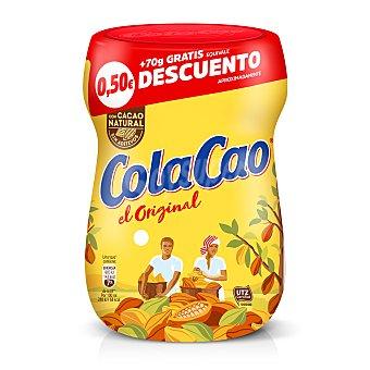Cola Cao Cacao en polvo soluble instantáneo Bote 400 g