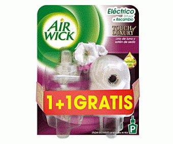 Air Wick Ambientador Aparato Eléctrico Satén de Seda 2x1u