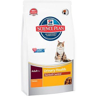 HILL'S SCIENCE PLAN ADULT Urinary Health Hairball alimento para gatos con pollo envase 300 g
