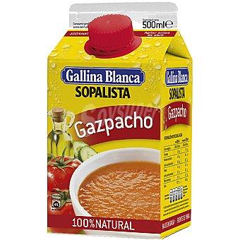 GALLINA BLANCA SOPALISTA Gazpacho 100% natural Envase 500 ml