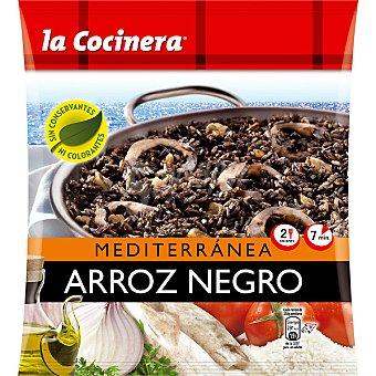 La Cocinera Arroz negro Mediterránea 2 raciones Bolsa 500 g