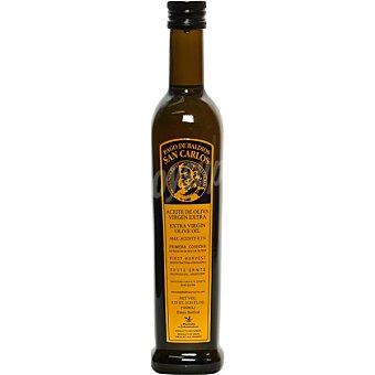 Pago Baldios San Carlos Aceite de oliva virgen extra Arbequina de Extremadura  botella 500 ml