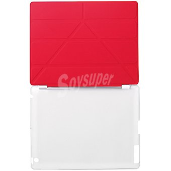 ANSONIC Funda Ipad 2 Smart Cover en color rojo
