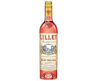 Lillet Aperitivo a base de vino rosado, típico francés botella de 75 cl