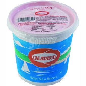 Calatayud Helado de fresa Tarrina 450 g