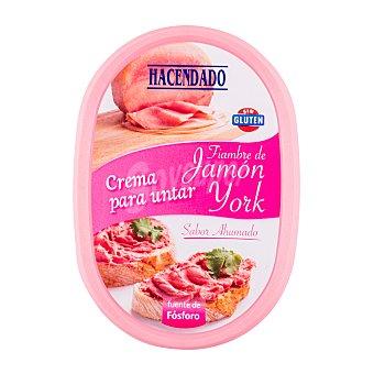 Hacendado Crema de jamón york Tarrina 160 g